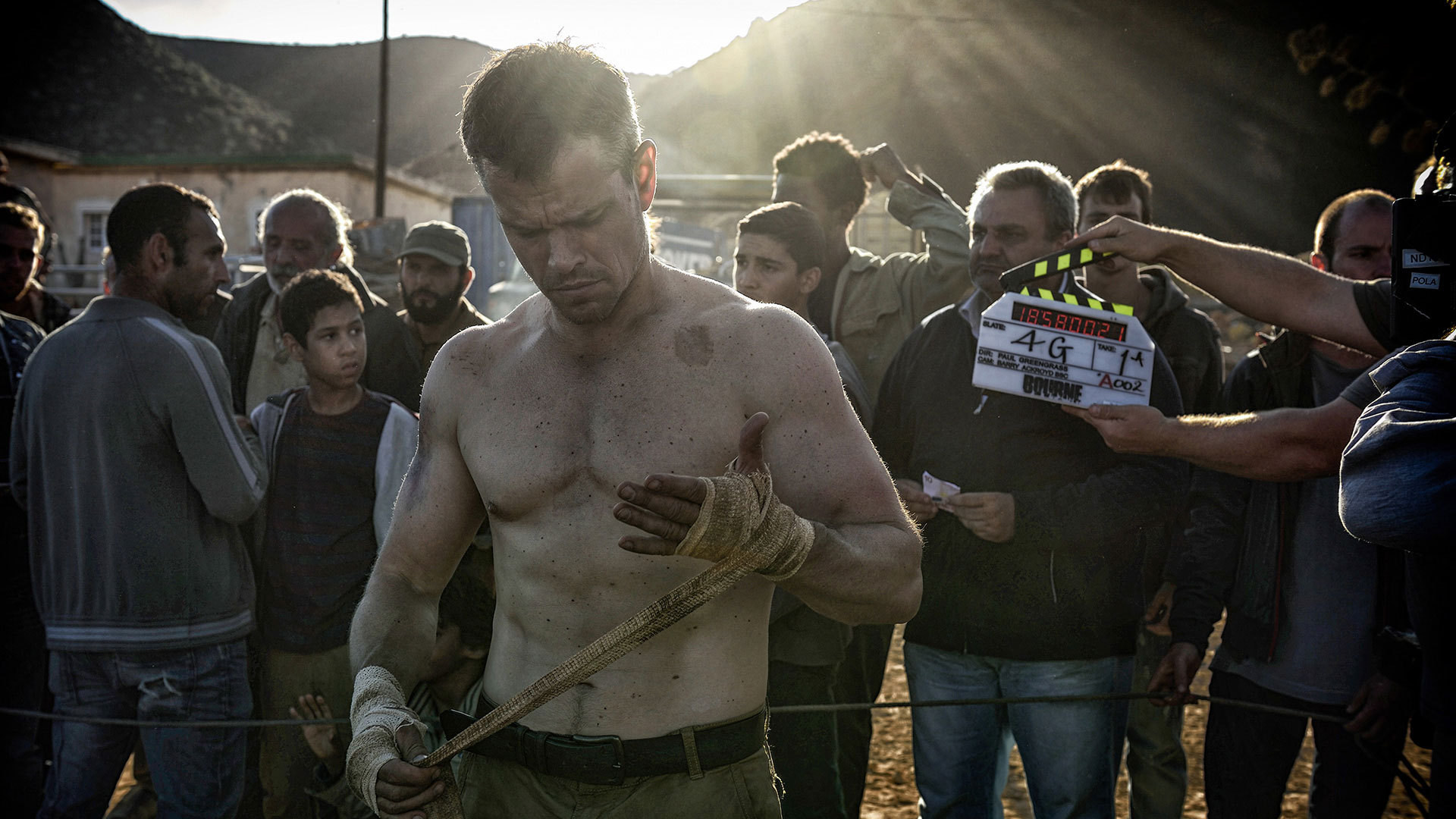 Jason Bourne Behind the Scenes Photos & Tech Specs
