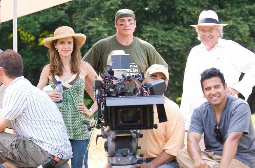 On Set of Old Dogs (2009) Behind the Scenes