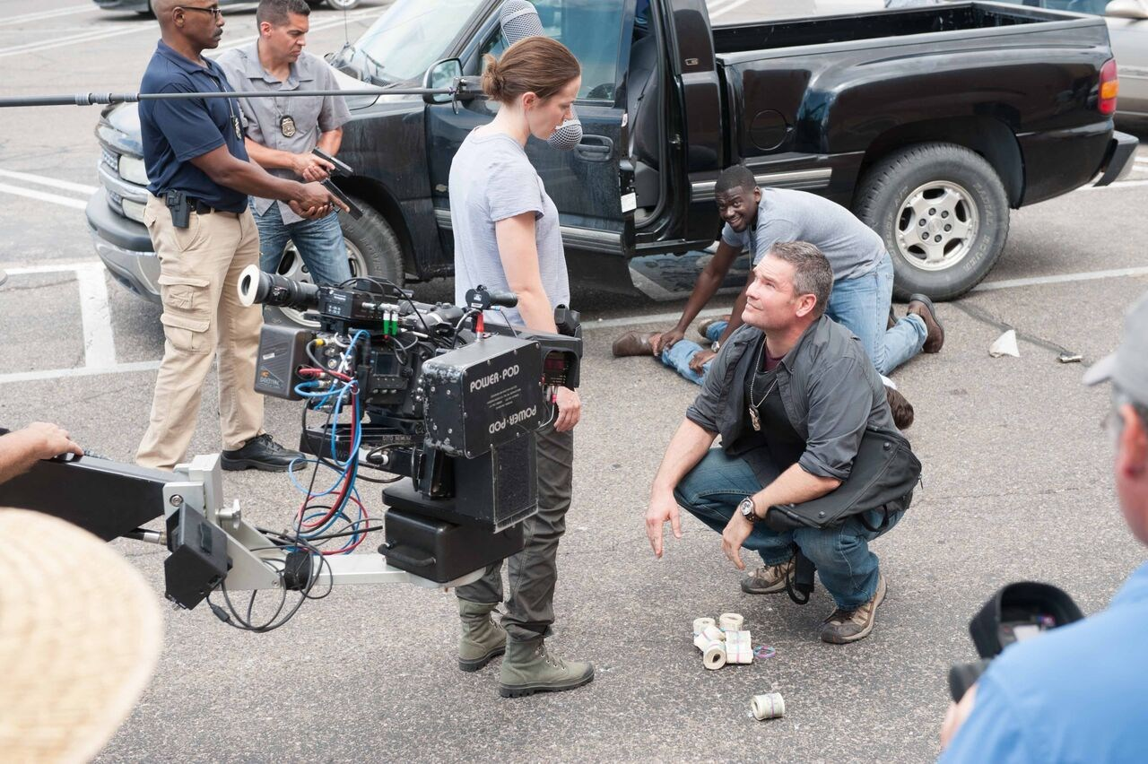 Sicario Behind the Scenes Photos & Tech Specs