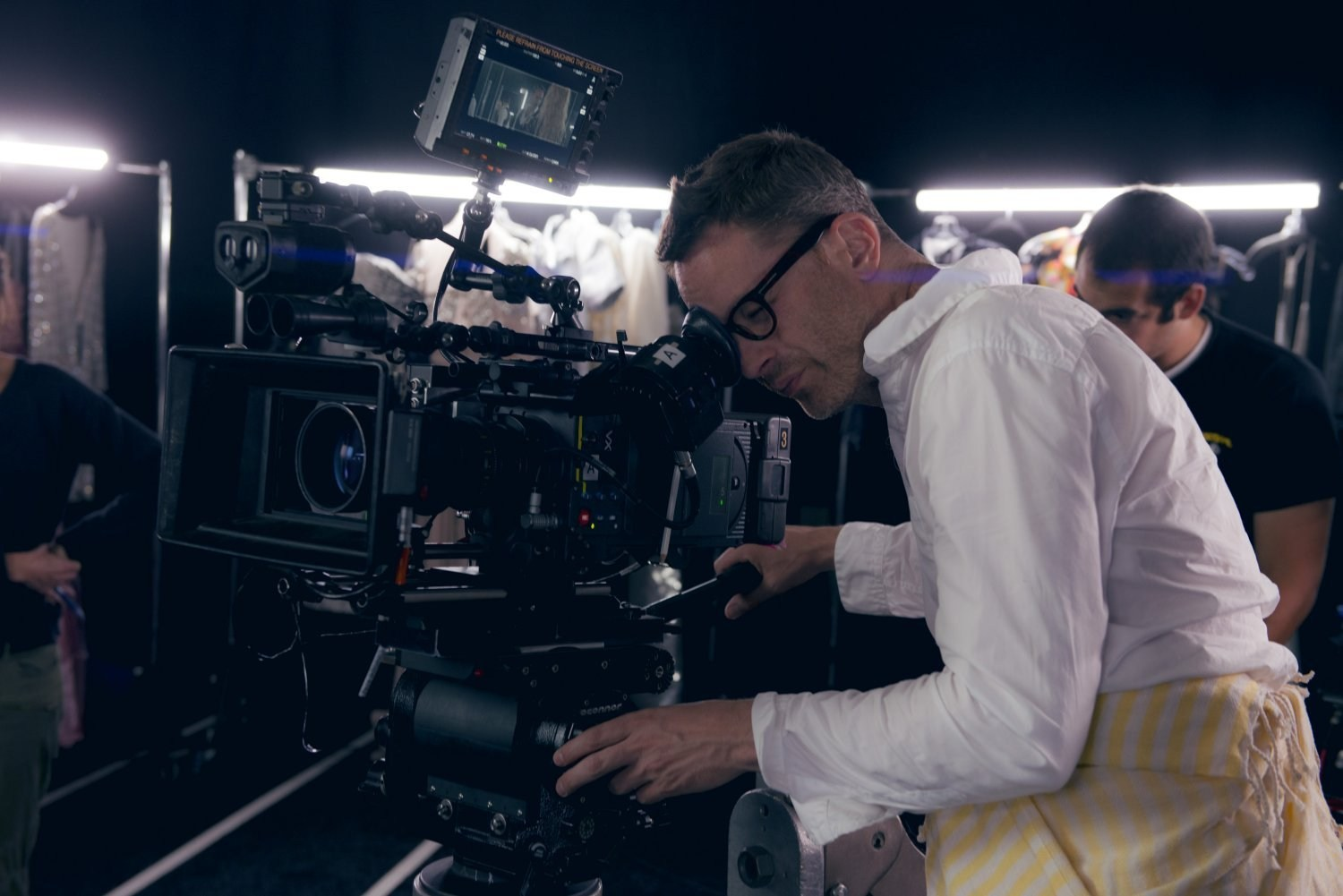 Nicolas Winding Refn Directs Behind the Scenes