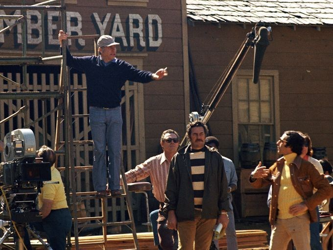 On Set of Blazing Saddles (1974) Behind the Scenes