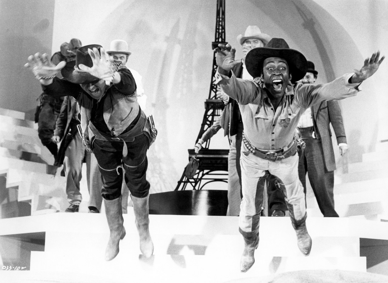 Behind the Scenes of Blazing Saddles (1974) Behind the Scenes