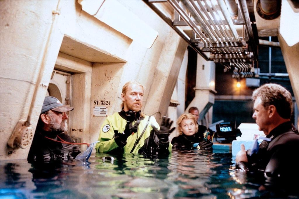 Prepping for a Underwater Scene Behind the Scenes