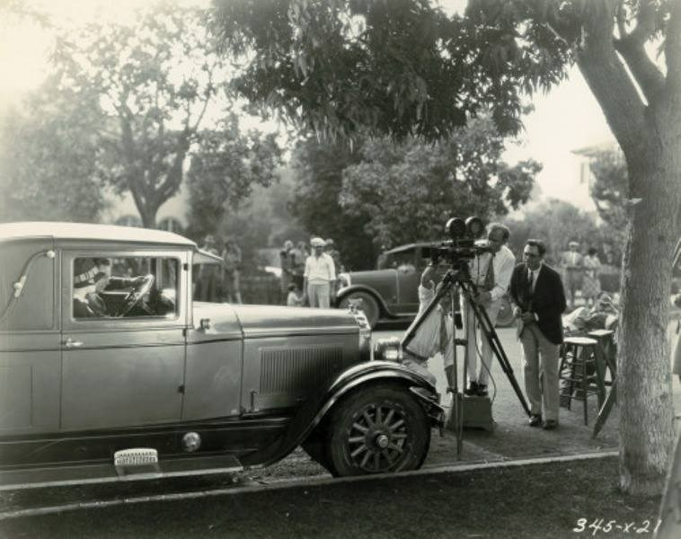 Filming The Patsy (1928) Behind the Scenes