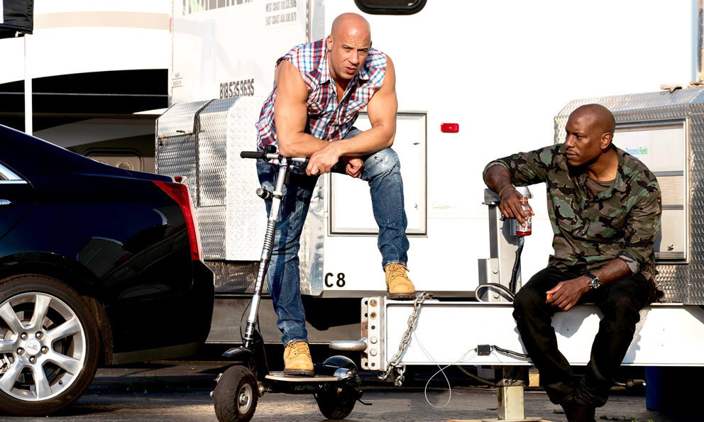 Fast 8 Behind the Scenes Photos & Tech Specs