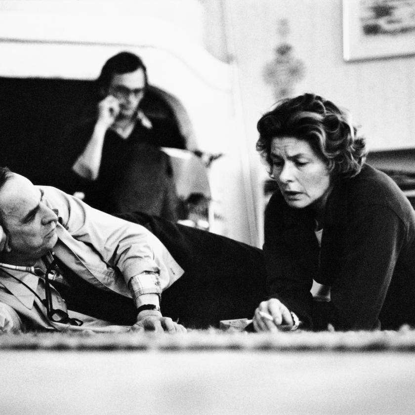 Two Bergman's at Work Behind the Scenes