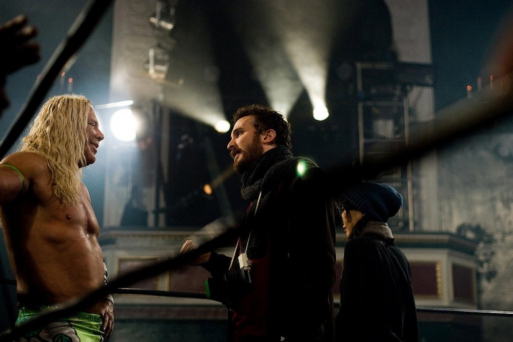 The Wrestler Behind the Scenes Photos & Tech Specs