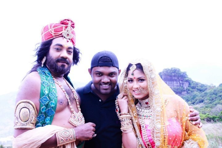 On Set of Kusa Pabha (2012) Behind the Scenes