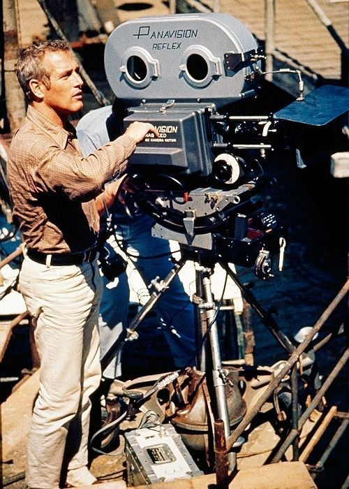 Paul Newman as Butch Cassidy Behind the Scenes