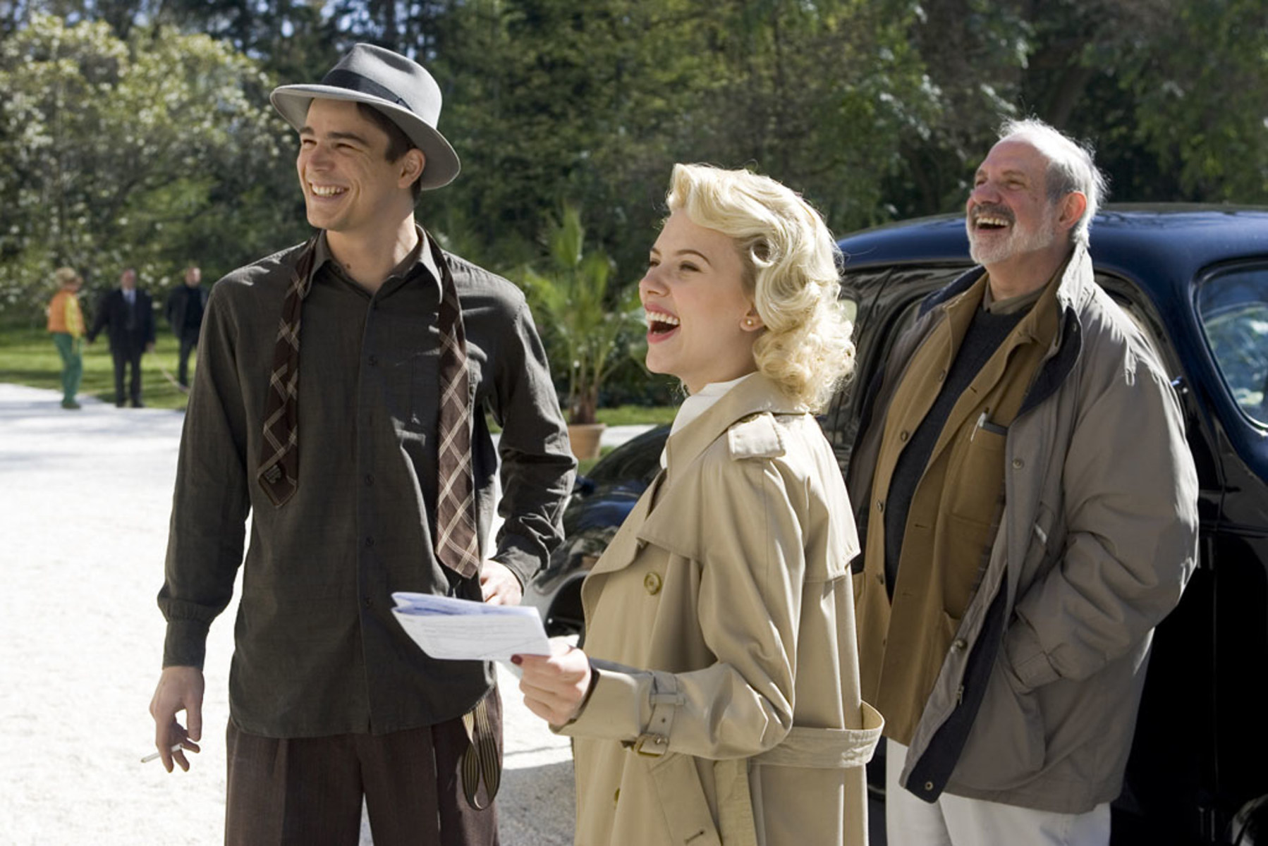 The Black Dahlia Behind the Scenes Photos & Tech Specs