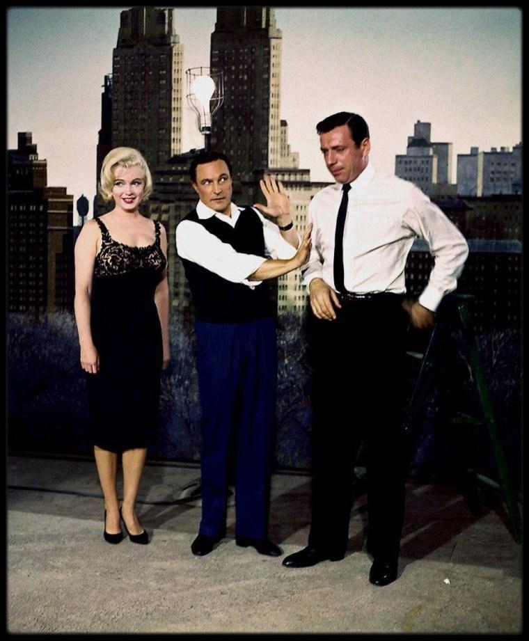 On Set of Let's Make Love (1960) Behind the Scenes