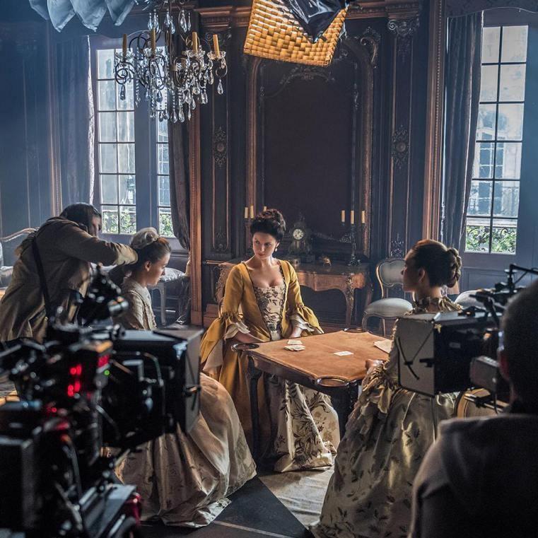 Filming Outlander (2014) Behind the Scenes