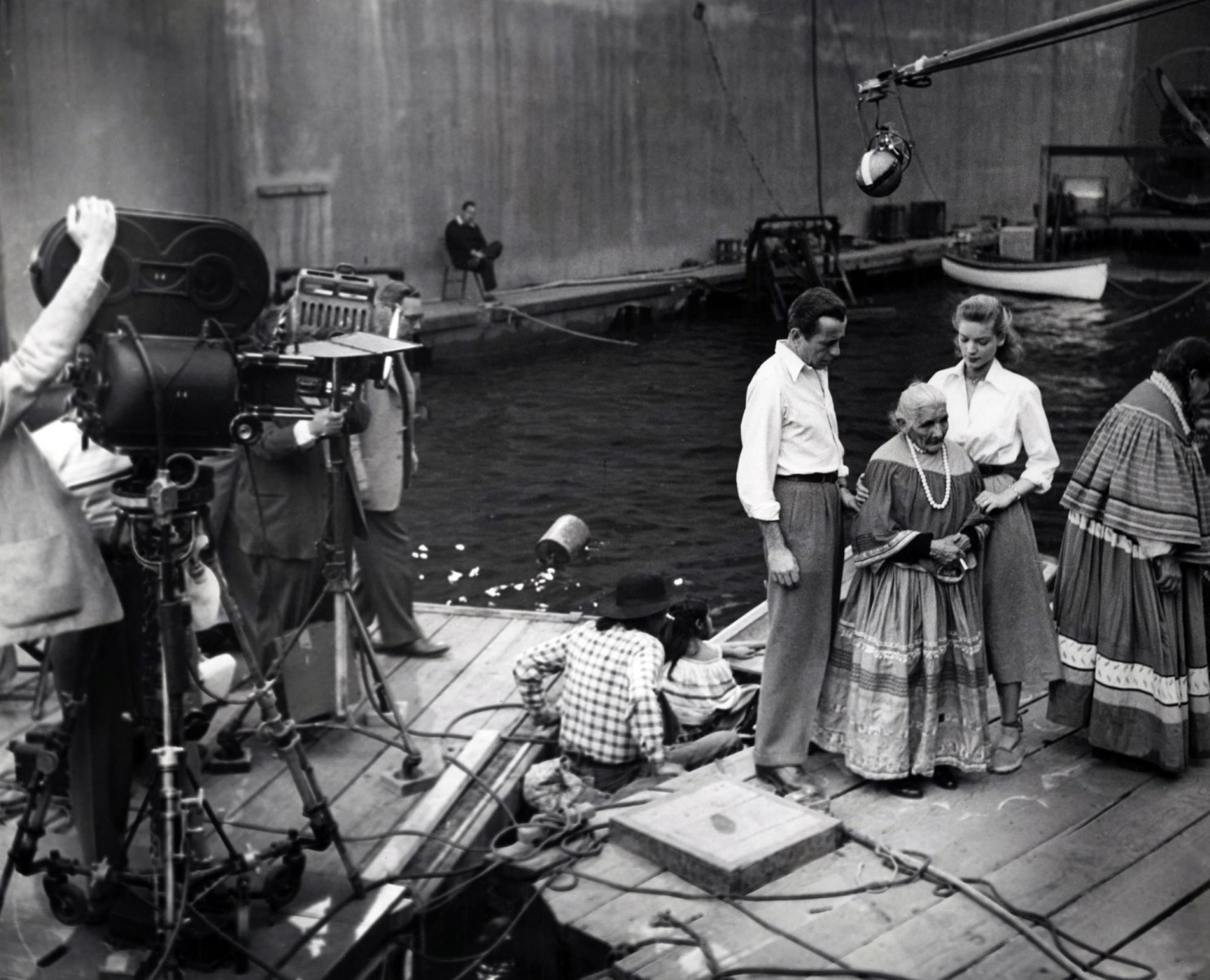 On Set of Key Largo (1948) Behind the Scenes
