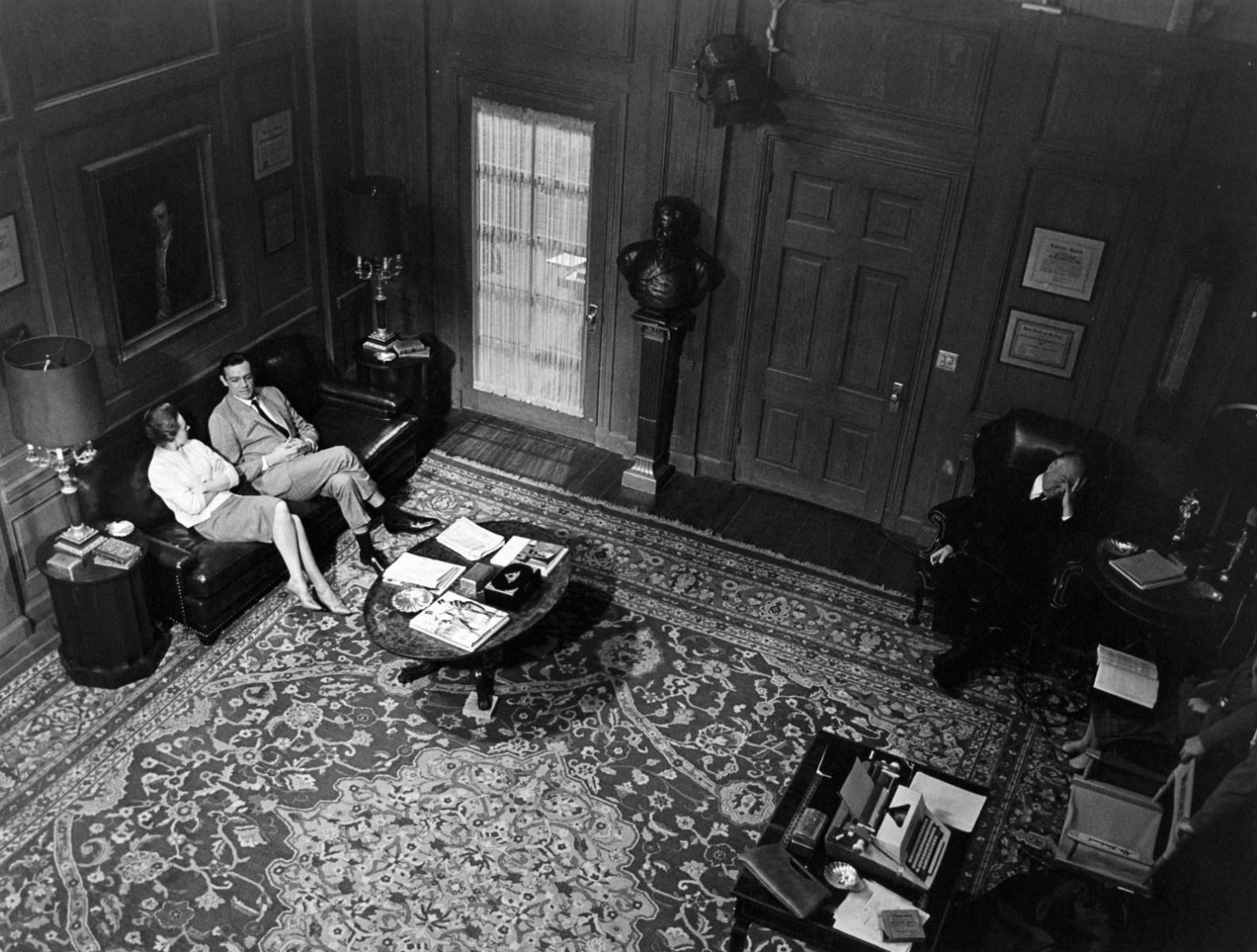 On Set of Marnie (1964) Behind the Scenes