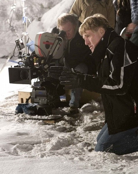 Robert Redford Directs Behind the Scenes