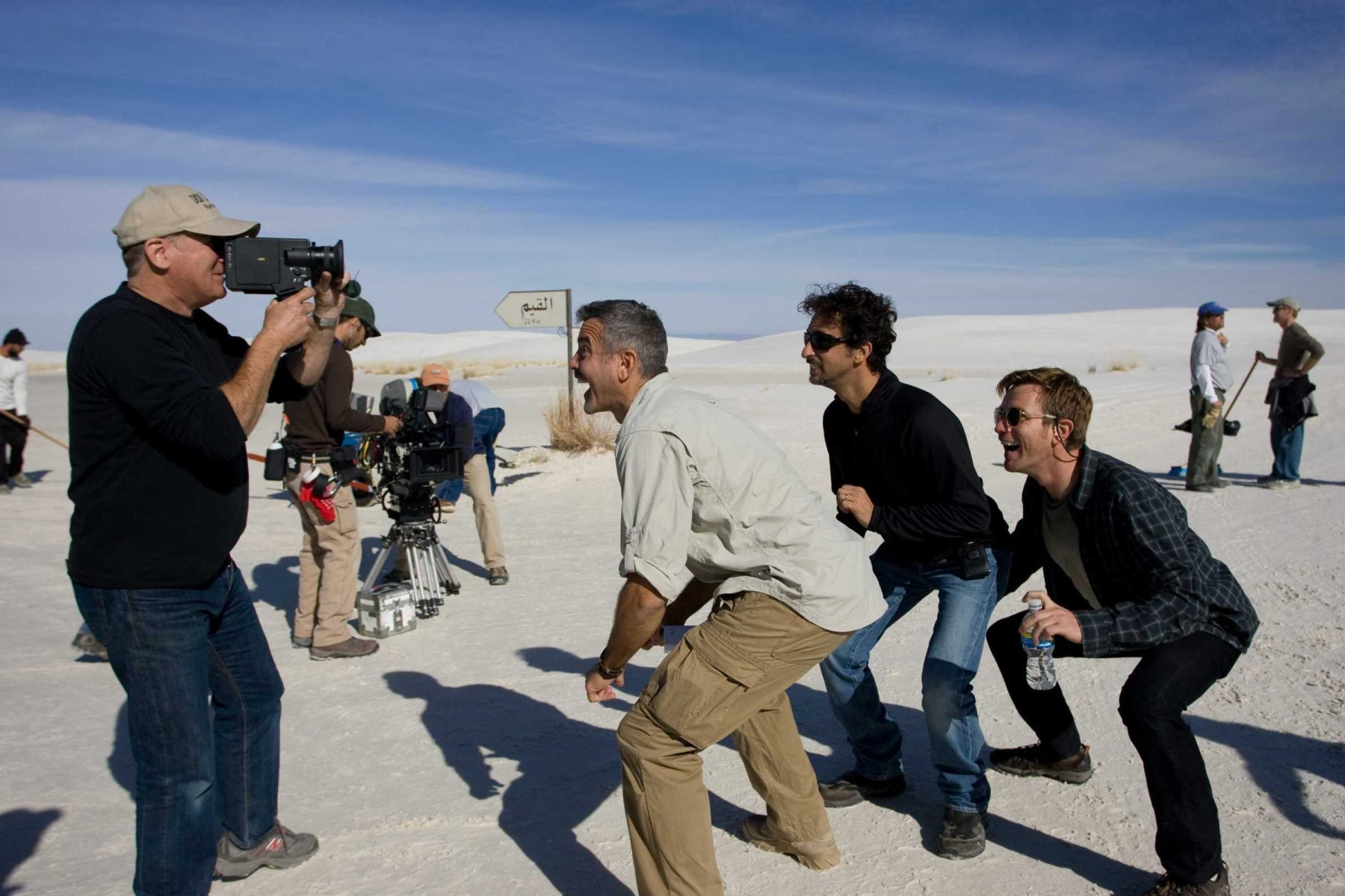 On Location : Men Who Stare at Goats (2009) Behind the Scenes