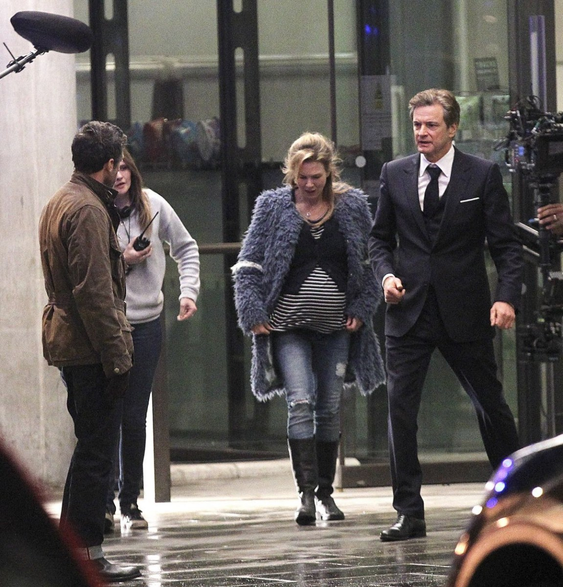 On Location : Bridget Jones's Baby (2016) Behind the Scenes