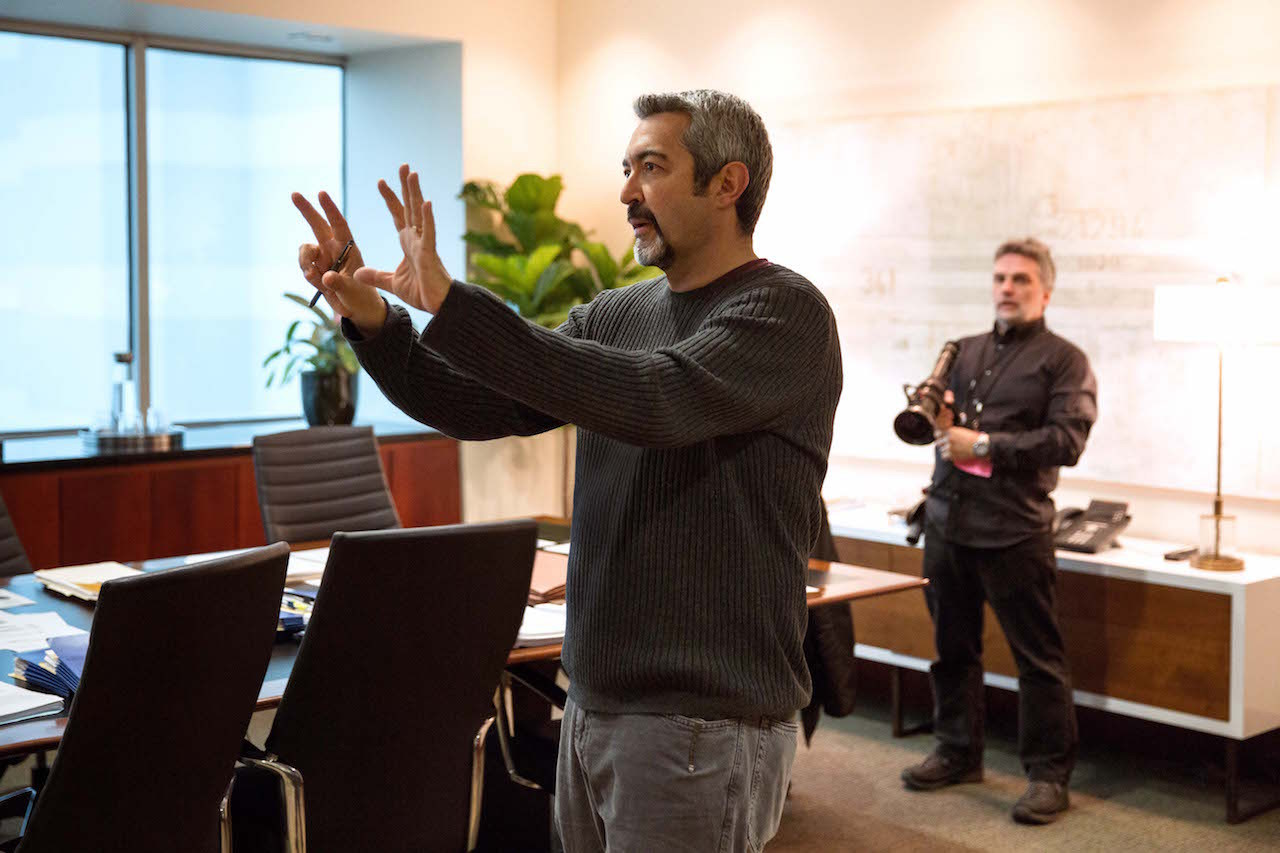 Jon Cassar Directs Behind the Scenes
