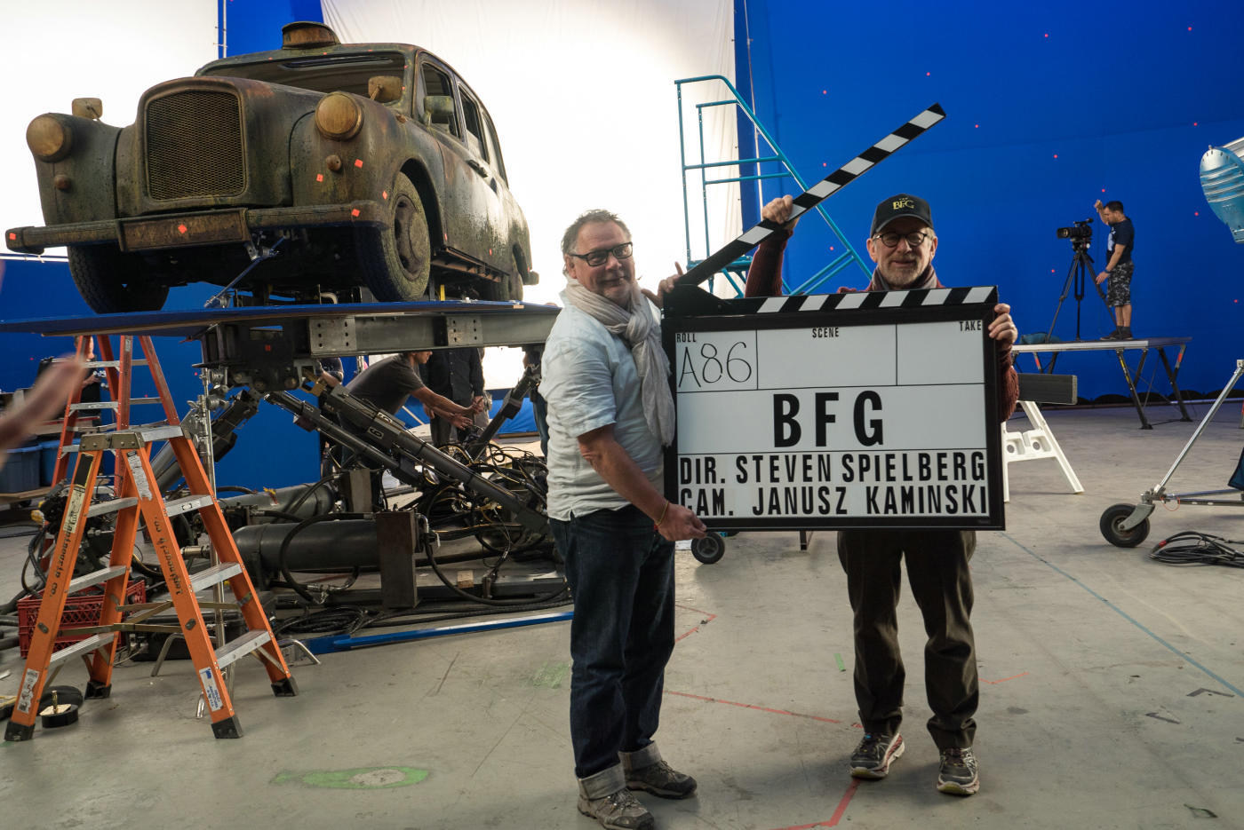 On Set of The BFG Behind the Scenes