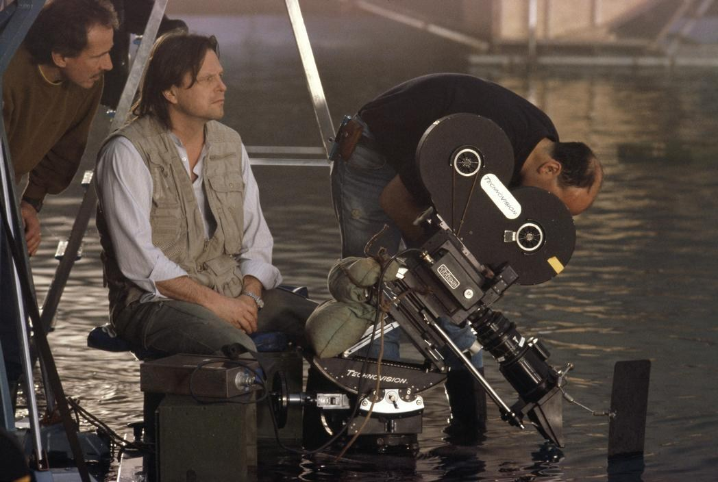 Terry Gilliam Directs Behind the Scenes