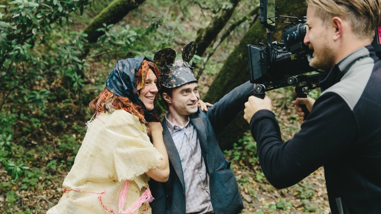 On Set of Swiss Army Man (2016) Behind the Scenes