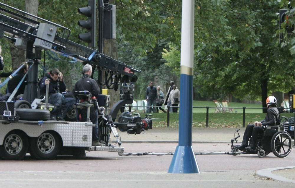 Filming Johnny English Reborn (2011) Behind the Scenes