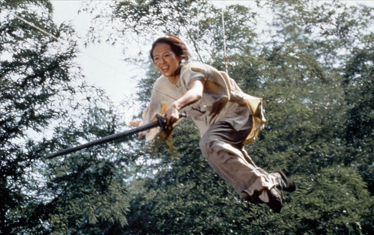 From the Film Crouching Tiger, Hidden Dragon (2000) Behind the Scenes