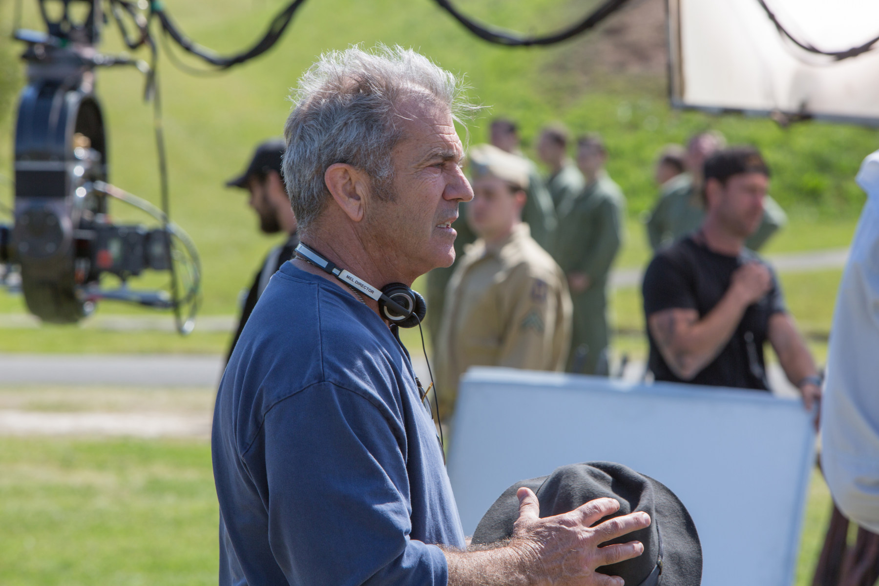Mel Gibson : Hacksaw Ridge (2016) Behind the Scenes