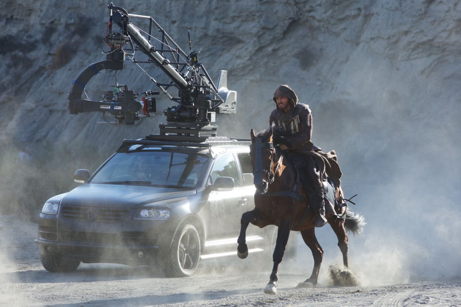 Filming Assassin's Creed (2016) Behind the Scenes