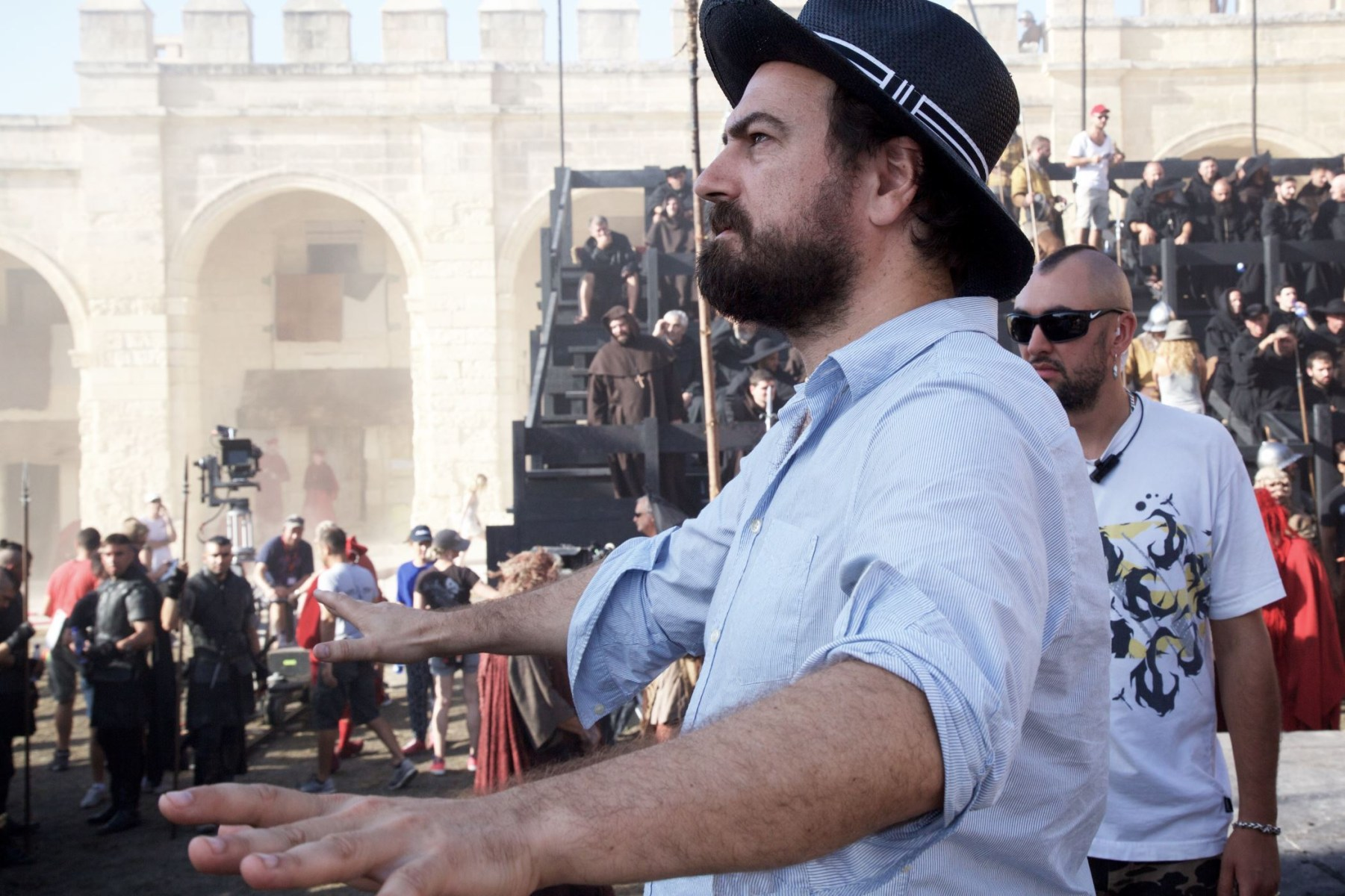 Justin Kurzel Directs Behind the Scenes