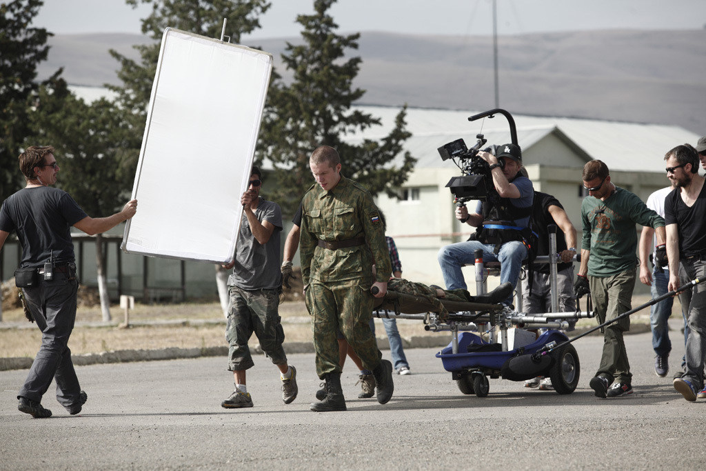 Filming The Search (2014) Behind the Scenes