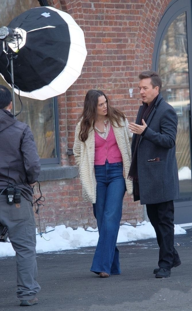 Collateral Beauty Behind the Scenes Photos & Tech Specs