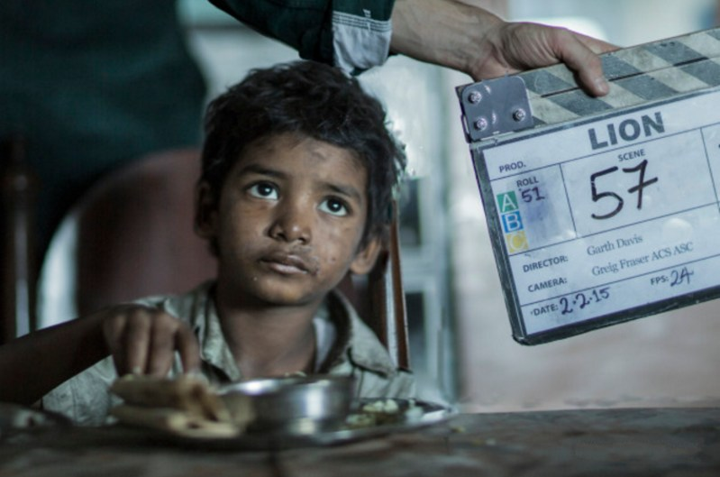 Sunny Pawar as Young Saroo Behind the Scenes