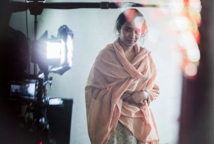 Tannishtha Chatterjee in Lion (2016) Behind the Scenes