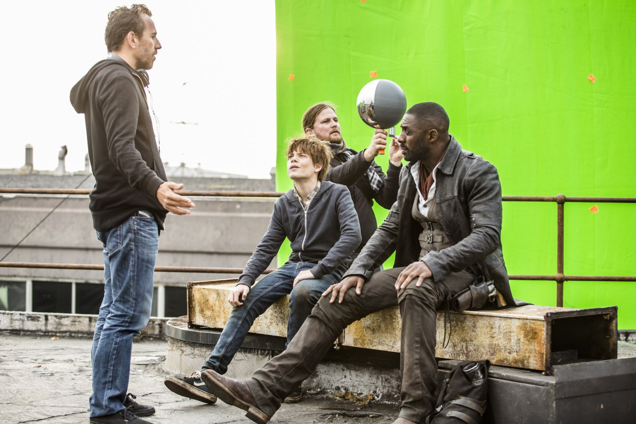 On Set of The Dark Tower (2017) Behind the Scenes