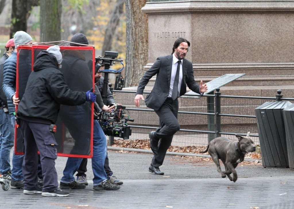 Keanu Reeves as Jonathan Behind the Scenes