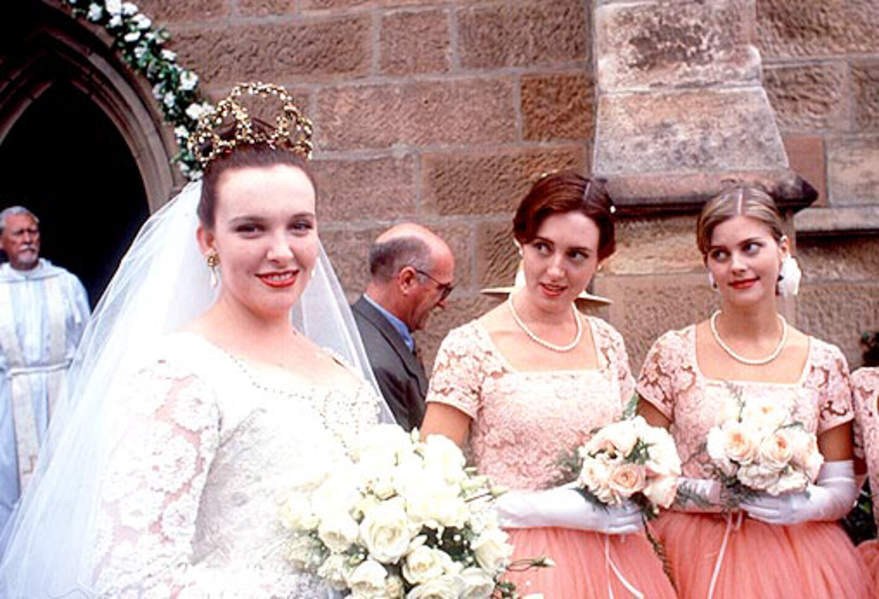 Beautiful Bride in Muriel's Wedding (1994) Behind the Scenes