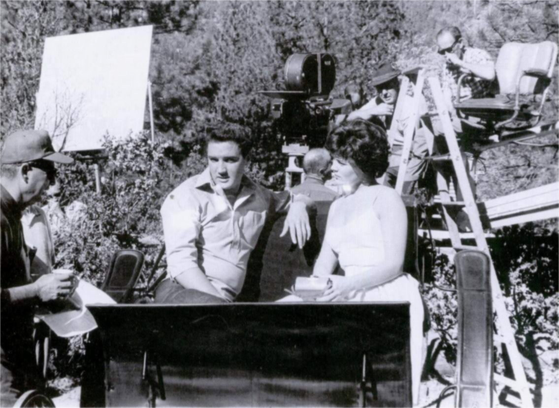 Elvis and Joan Behind the Scenes