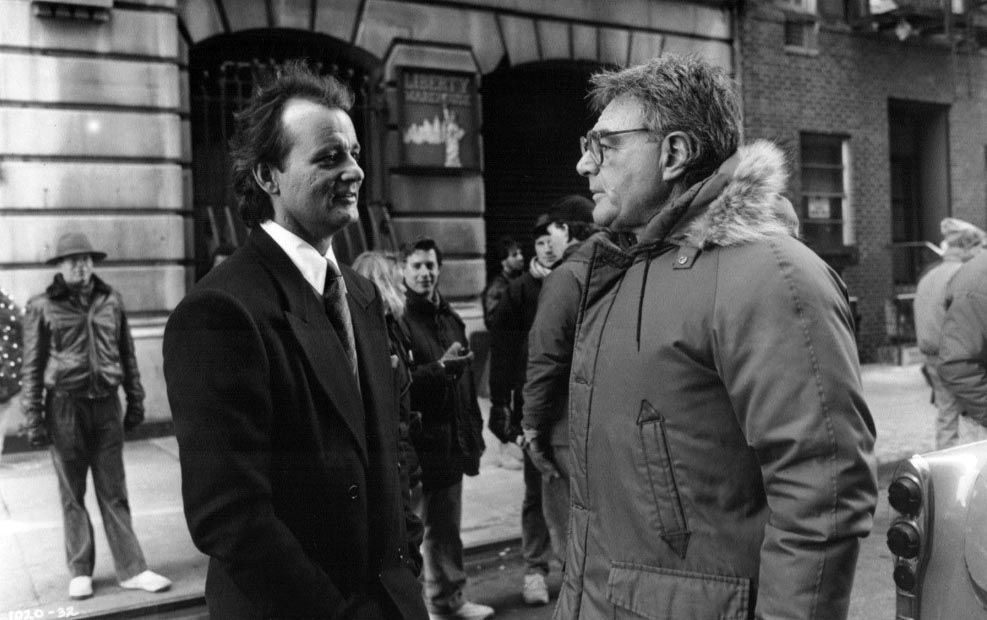On Set of Scrooged (1988) Behind the Scenes