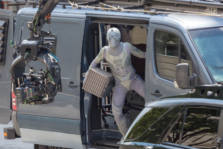 Female Villain Ghost in Ant-Man and the Wasp (2018) Behind the Scenes