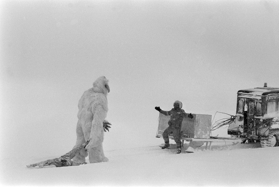 The Wampa Snow Creature Behind the Scenes
