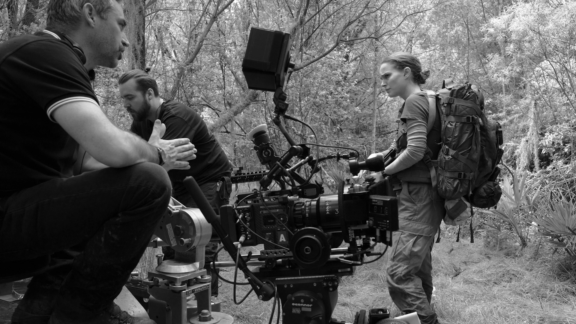 Beautiful Natalie on the Set of Annihilation Behind the Scenes