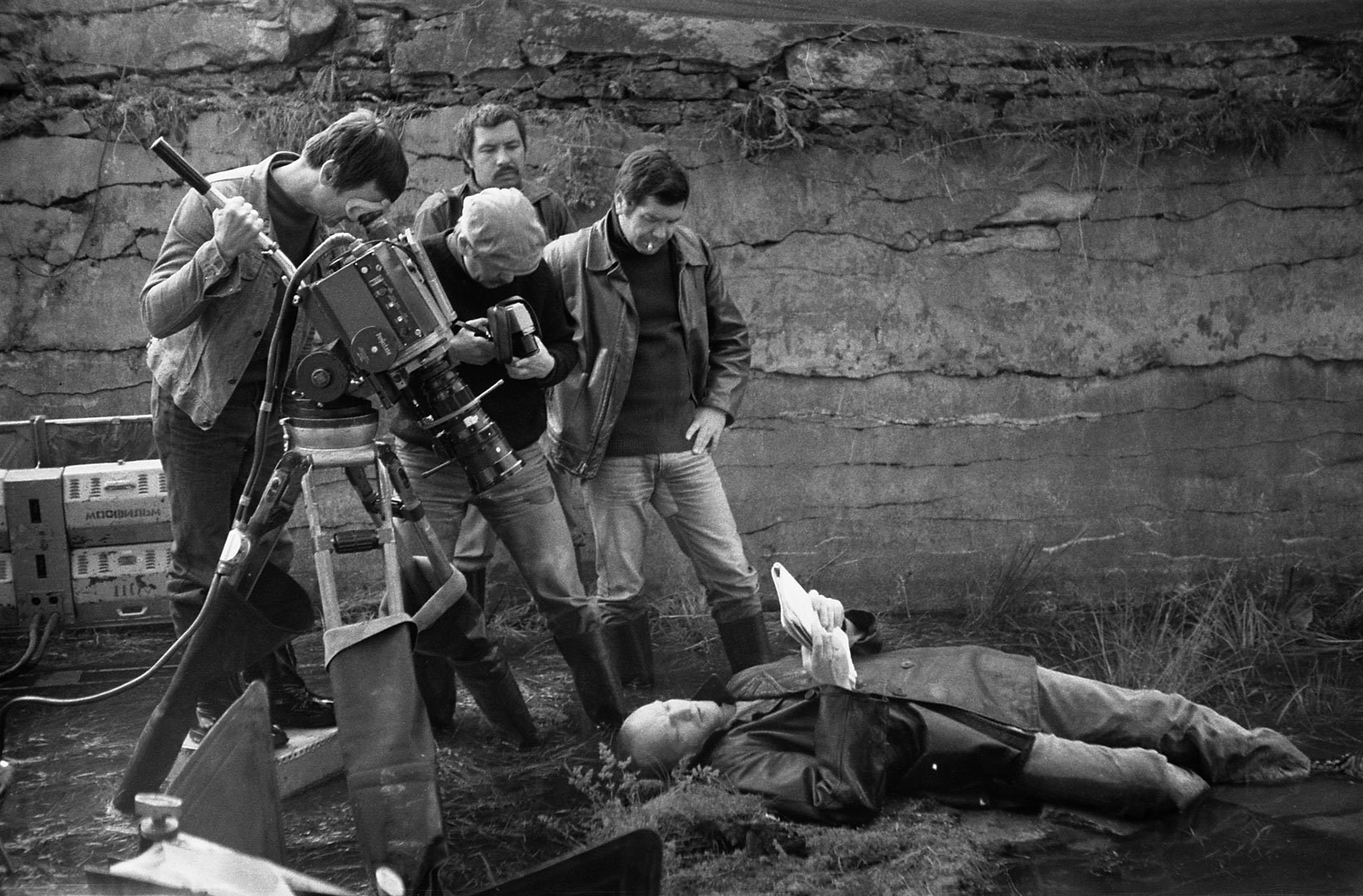 Filming Stalker (1979) Behind the Scenes