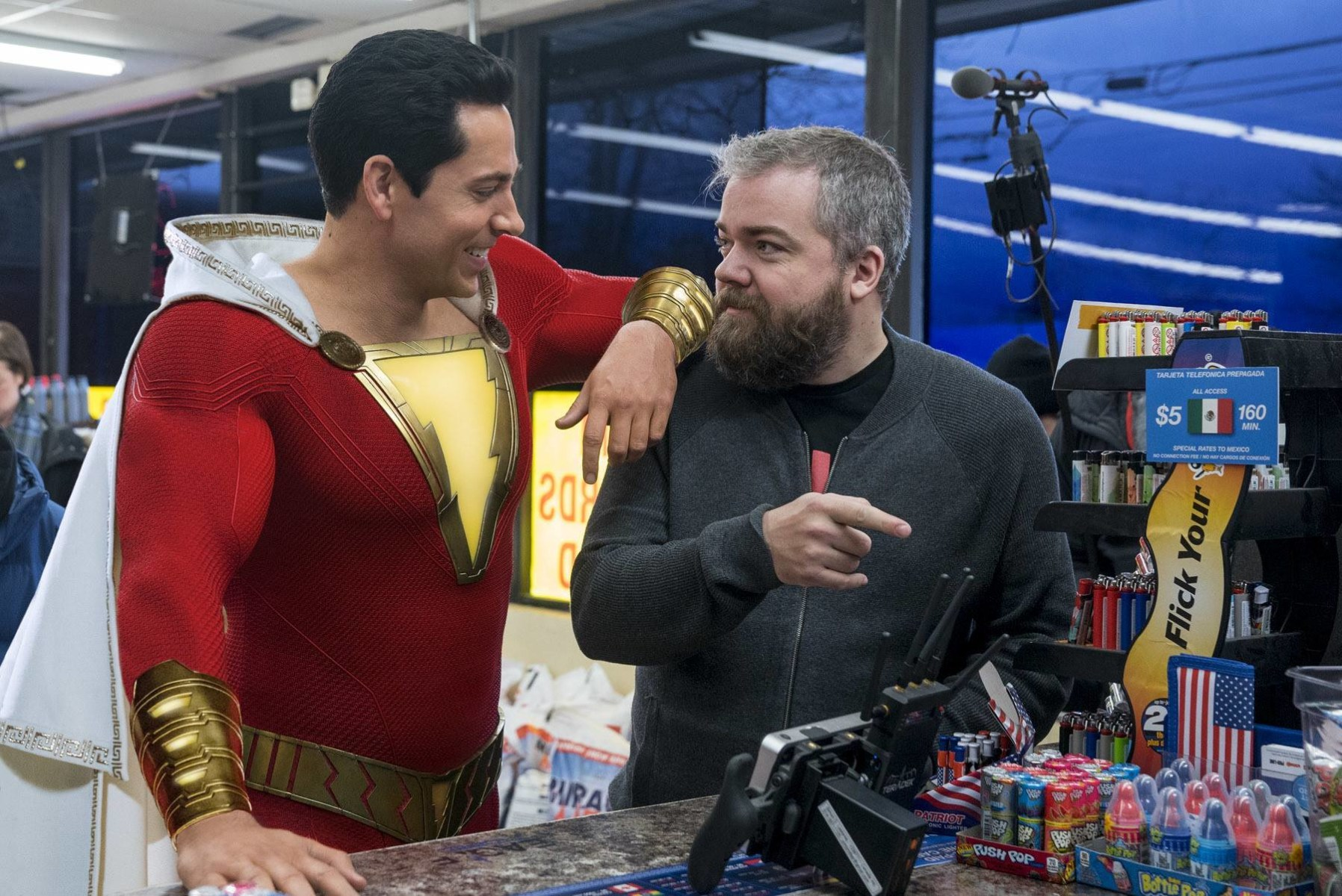 Shazam! Behind the Scenes Photos & Tech Specs