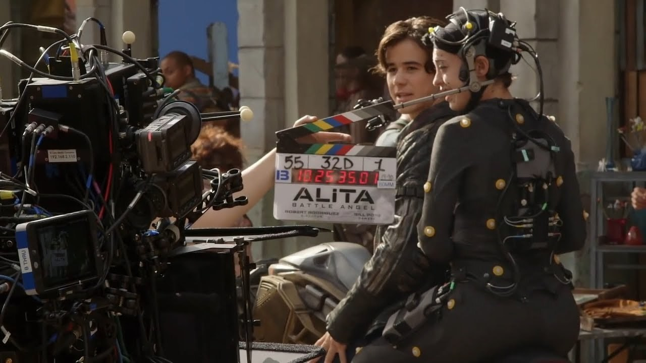 Filming Alita : Battle Angel (2019) Behind the Scenes