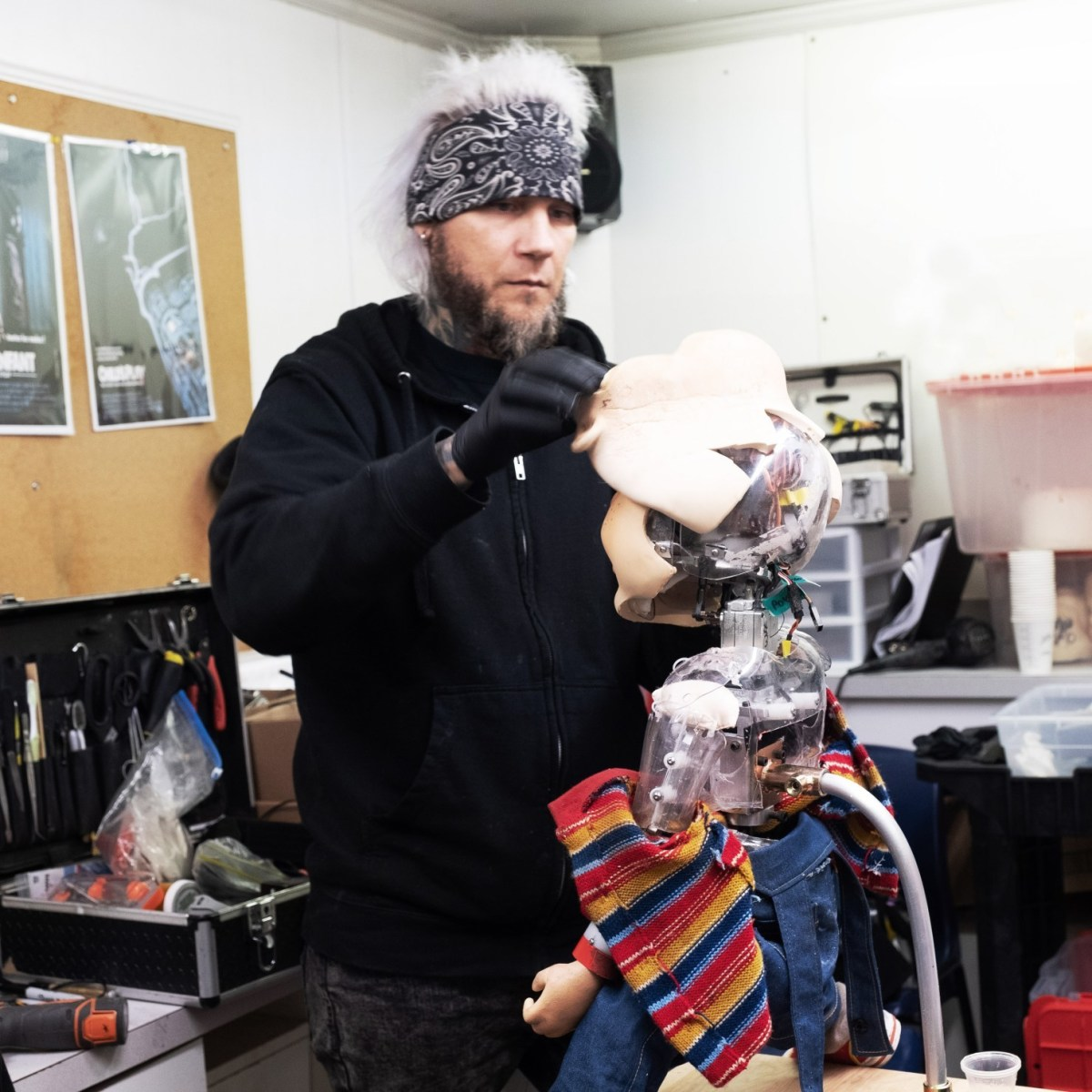 New Chucky Behind the Scenes
