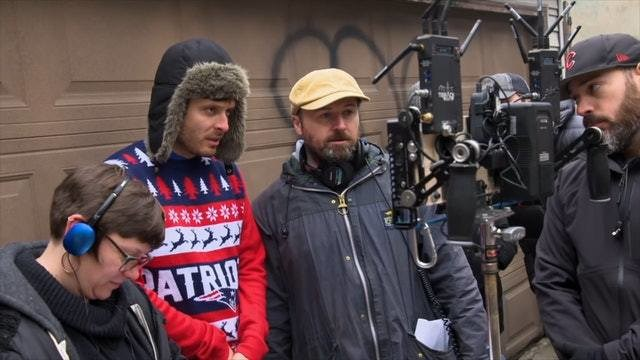 On Set Of Captive State (2019) Behind the Scenes