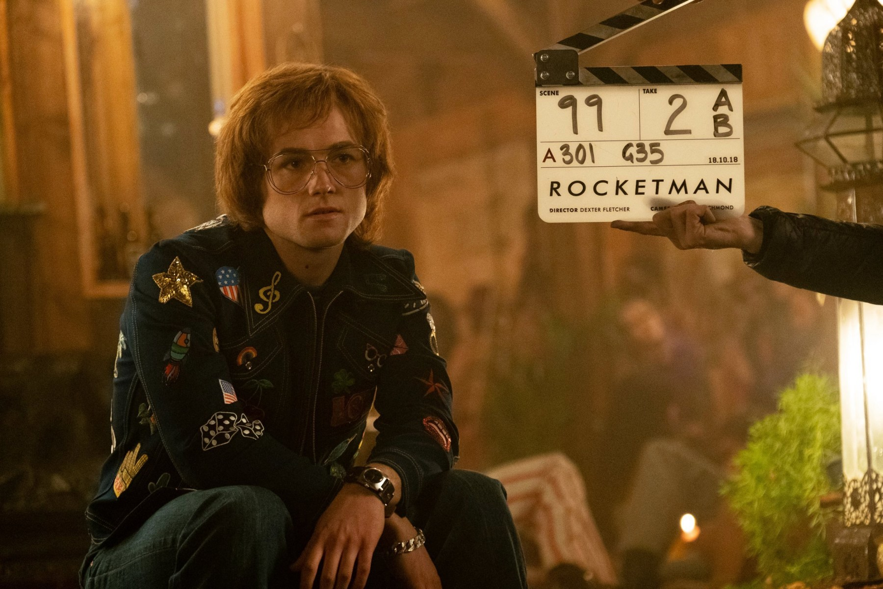 On Set Of Rocketman Behind the Scenes