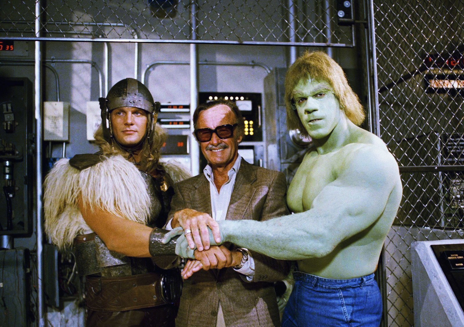On Set Of The Incredible Hulk Returns Behind the Scenes