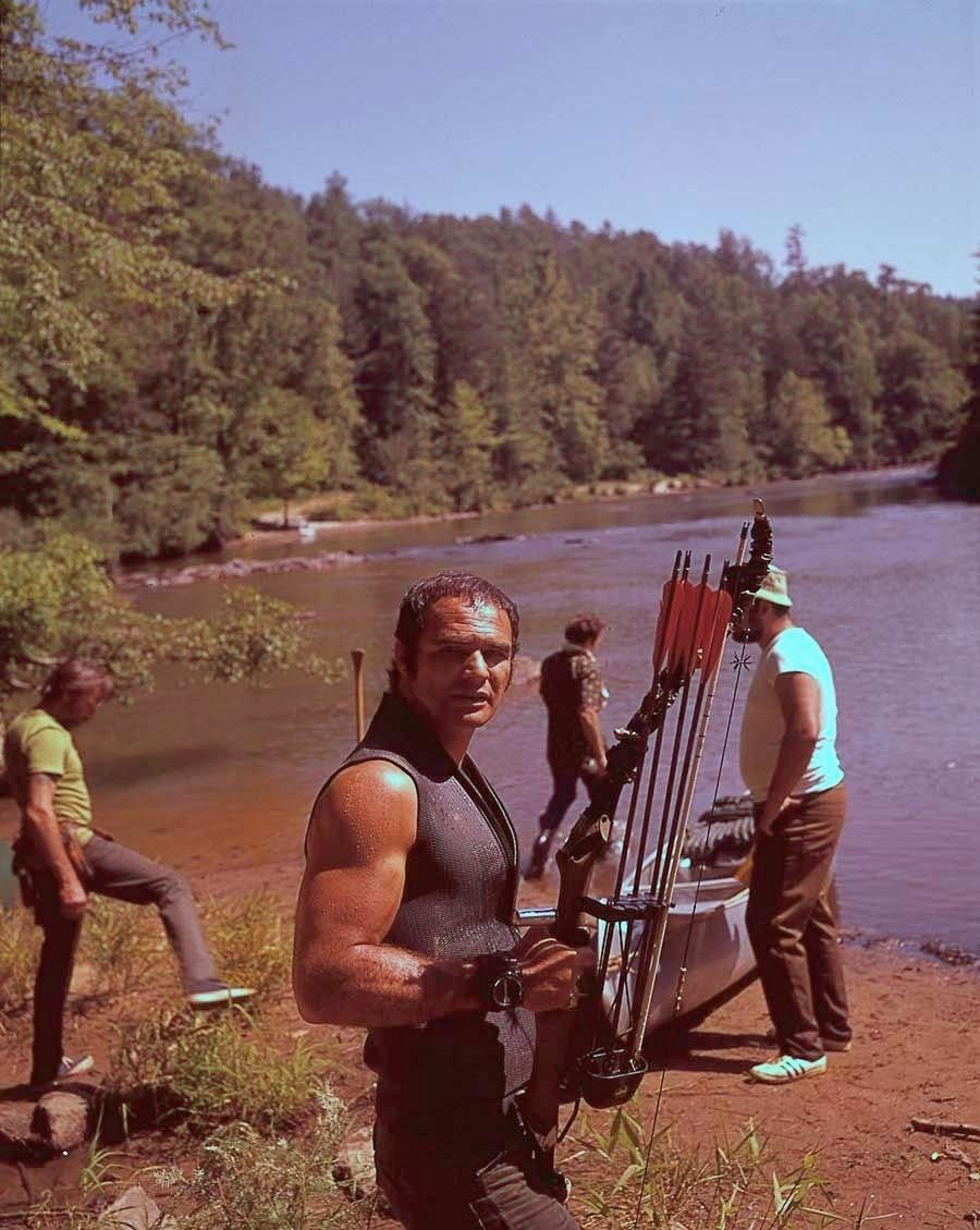 Burt Reynolds as Lewis Medlock Behind the Scenes